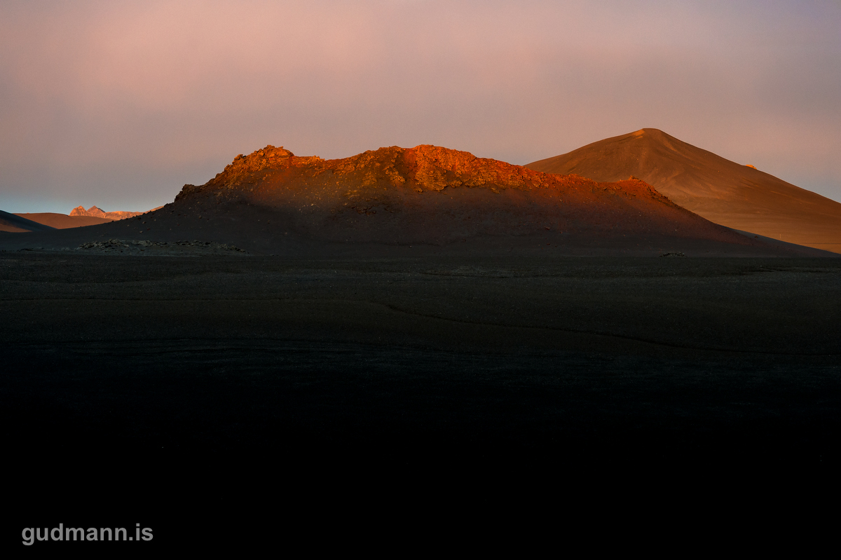 Crater near Vatnaöldur