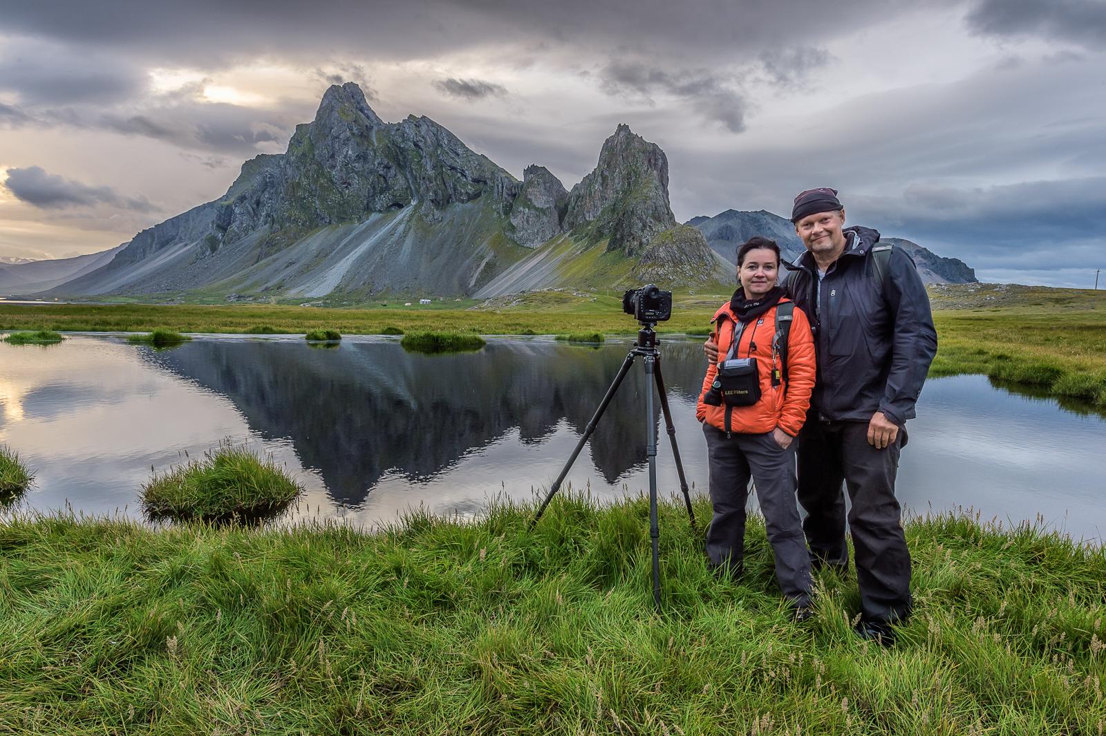 Einar Guðmann og Gyða Henningsdóttir