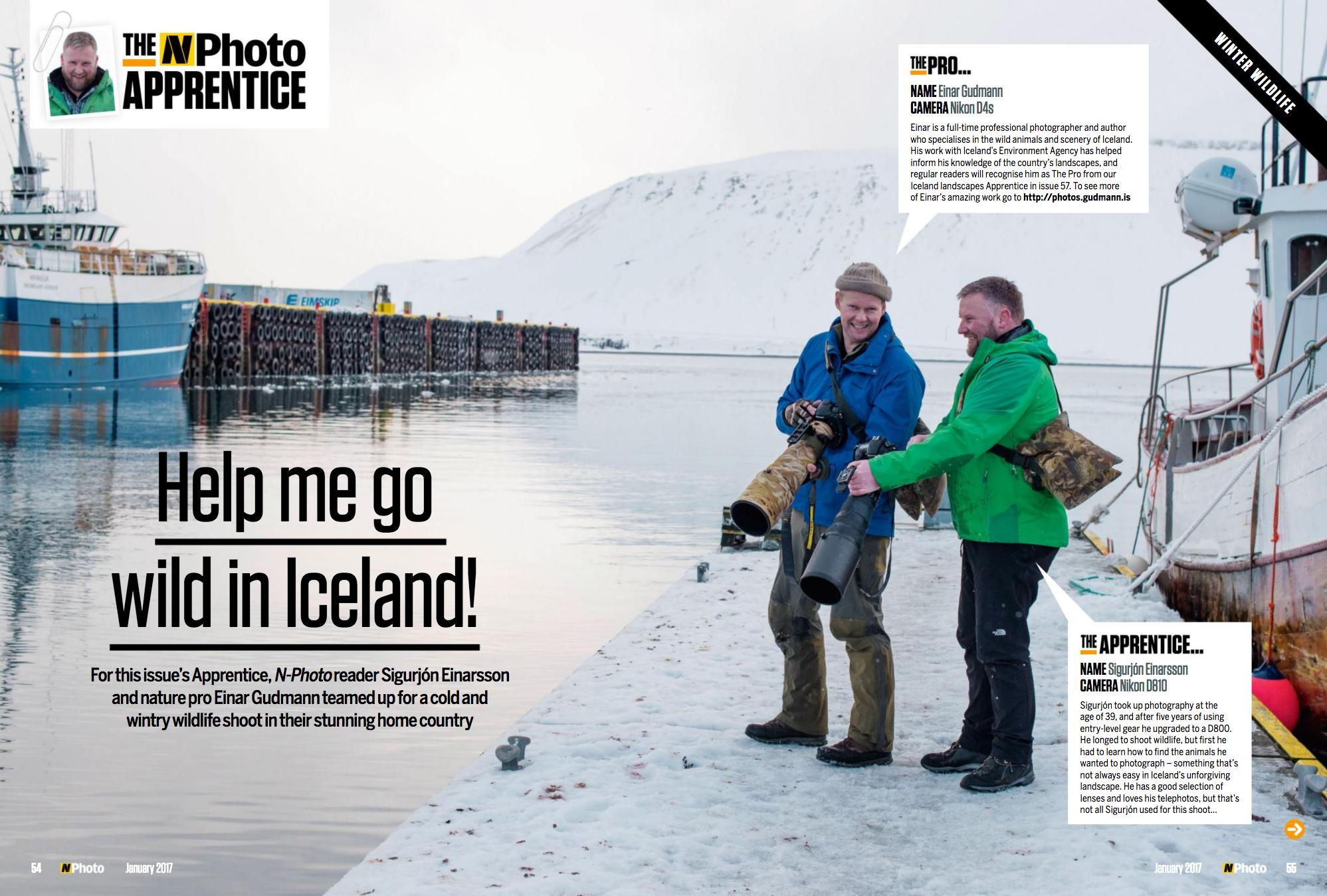 Nphoto - go wild in Iceland - Einar Gudmann