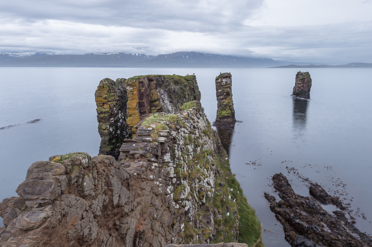 Vopnafjörður and Fuglabjarganes