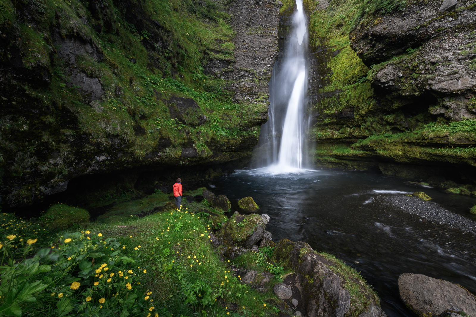 Gluggafoss waterfall